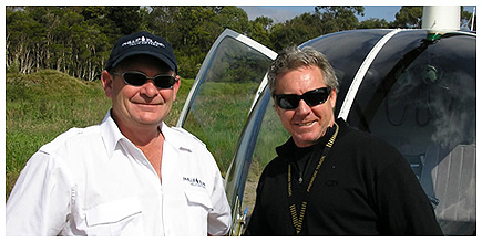 Ian Batton, Chief Pilot, Phillip Island Helicopters